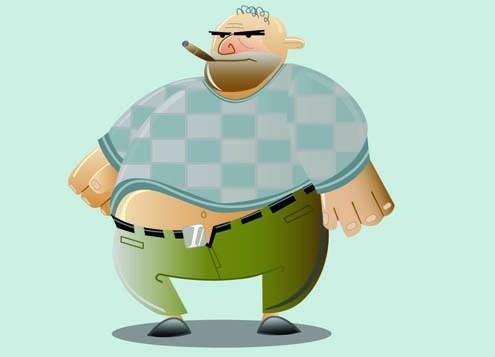 Ожирение у мужчин: причины