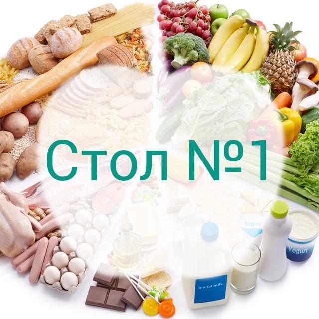 Лечебная диета № 1