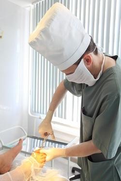 Хирургическая инфекция кожи: фурункул