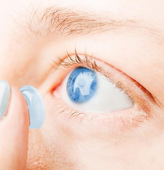 Мифы о контактных линзах