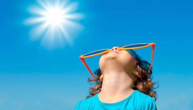 Глаза и солнце